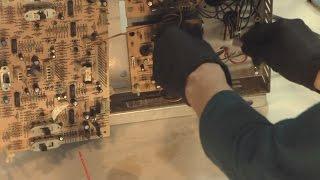 AMI R-88 Jukebox Amp Teardown And Repair