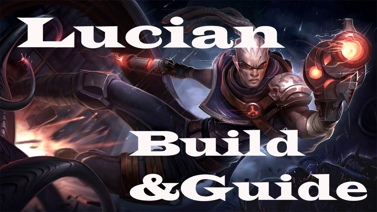 League of legends lucian build amp guide the purifier youtube