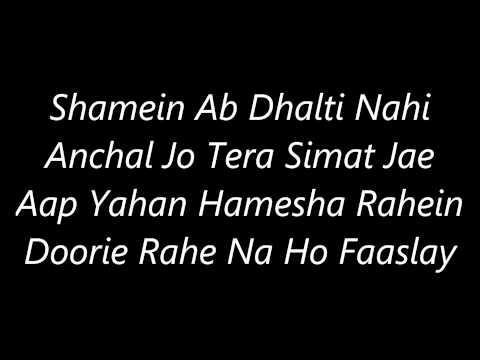 Atif Aslams Yakeen s Lyrics