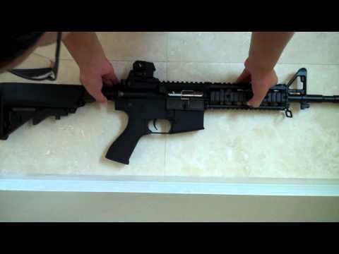 G&G Raider GR15 BlowBack Airsoft Gun Unboxing