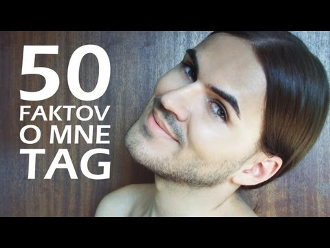 50 Faktov o mne tag  50 Random Facts About Me Tag