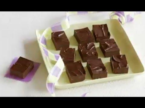 JELL-O Chocolate Pudding Fudge Recipe - YouTube
