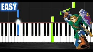The Legend of Zelda Theme - EASY Piano Tutorial by PlutaX