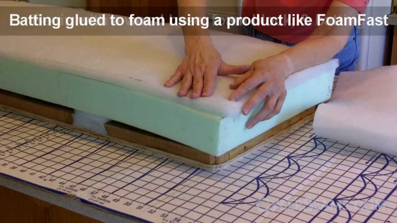 How To Upholster A Bench - YouTube