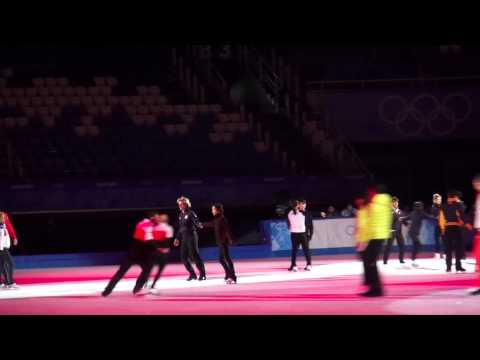 New! Yuna And Denis Gala Rehearsal Sochi 2014 Fan Video video
