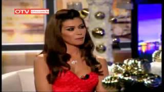 OTV حرتقجي Visit of Hisham Haddad & Nadine El Rassi to CCCL- Dec 25, 2014