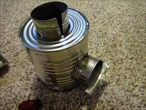 How to Build a Rocket Stove for $8