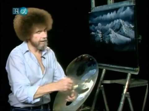 Bob Ross: Christmas Eve Snow
