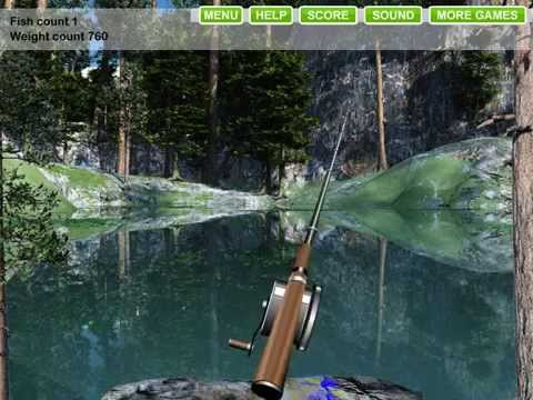 играть бесплатно в рыбалку на озере