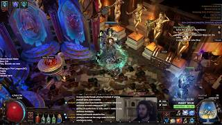 Path of Exile HC | SSF Storm Brand Progression Lvl 80 | Build Feels Great :D