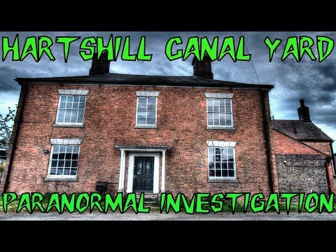 HBI HAUNTED BRITAIN INVESTIGATIONS - HARTSHILL CANAL YARD PARANORMAL INVESTIGATION