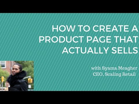 How to Create a Product Page that Actually Sells- Fashion Ecommerce Tips