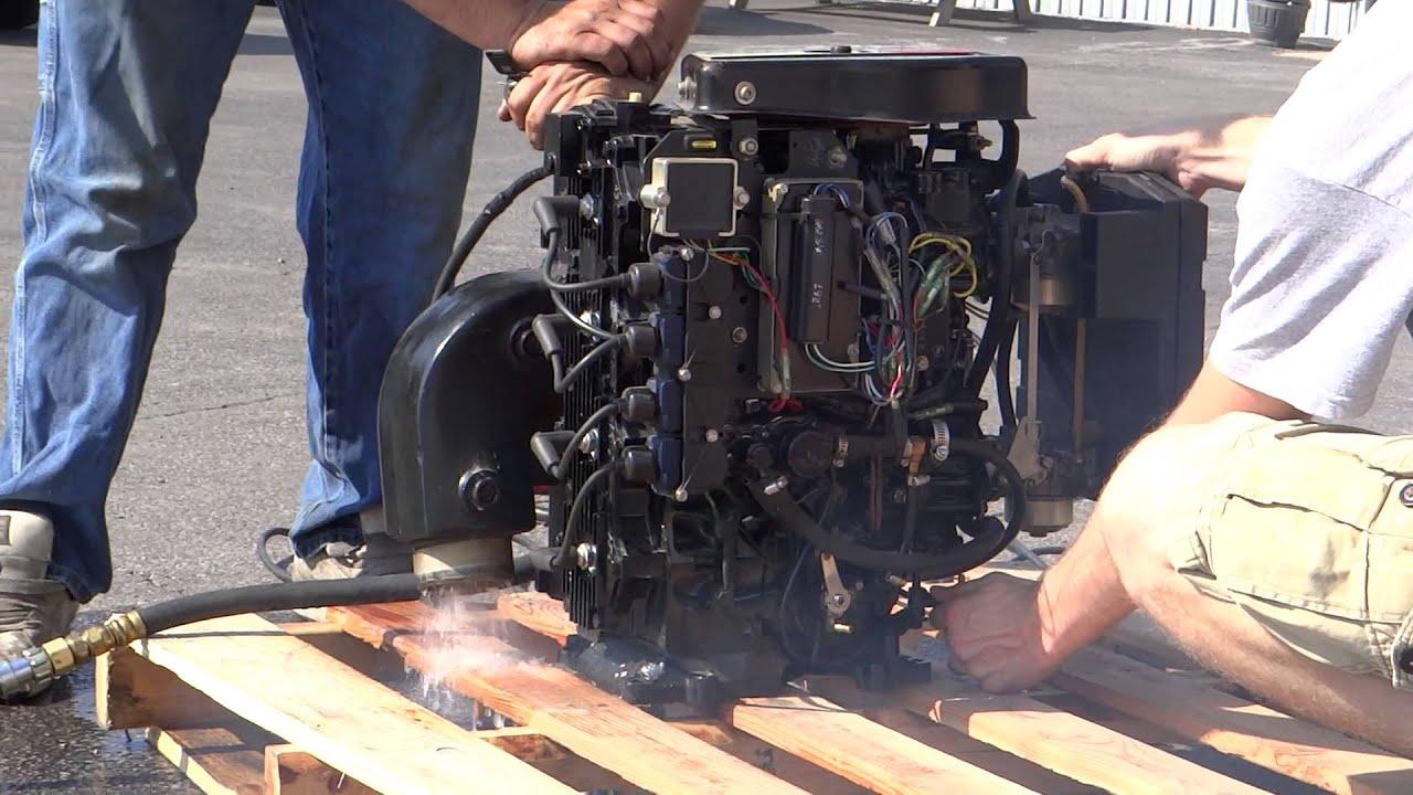 mercury sport jet 120 complete engine test