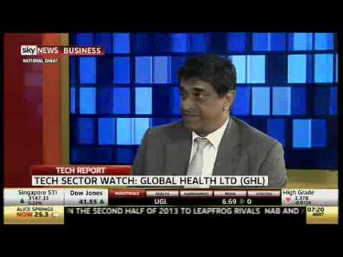 Global Health Ltd (ASX: GLH) CEO Mathew Cherian interview on Sky Business News 20th January 2014
