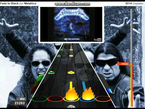 Fade to Black por Metallica 100 FC expert guitar flash