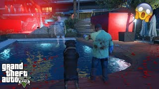 GTA 5 - I Went to Devin's SCARY HAUNTED HOUSE With CHOP