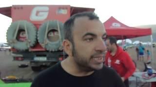 Dakar 2015: Matteo Casuccio al bivacco di Copiapo