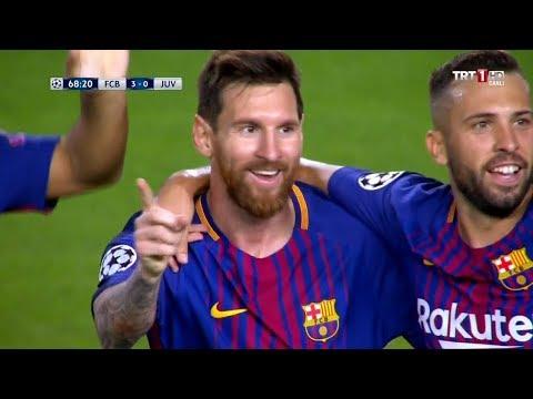 Camp Nou'da Messi Şov | FC Barcelona 3-0 Juventus | 12/09/2017 Türkçe Özet • HD