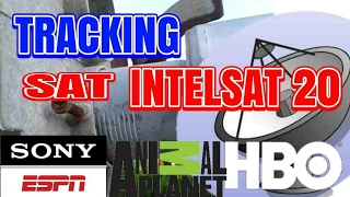 Tracking Satelit Intelsat 20 || HBO SONY ESPN DISCOVERY CHANNEL
