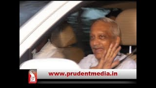 CM PARRIKAR ARRIVES IN GOA _Prudent Media Goa
