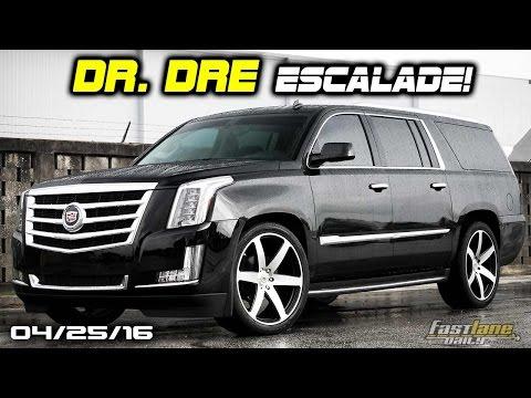 Dr. Dre's $200k Escalade, New Mercedes-AMG Supercar, 1.1M Chrysler Recalls - Fast Lane Daily