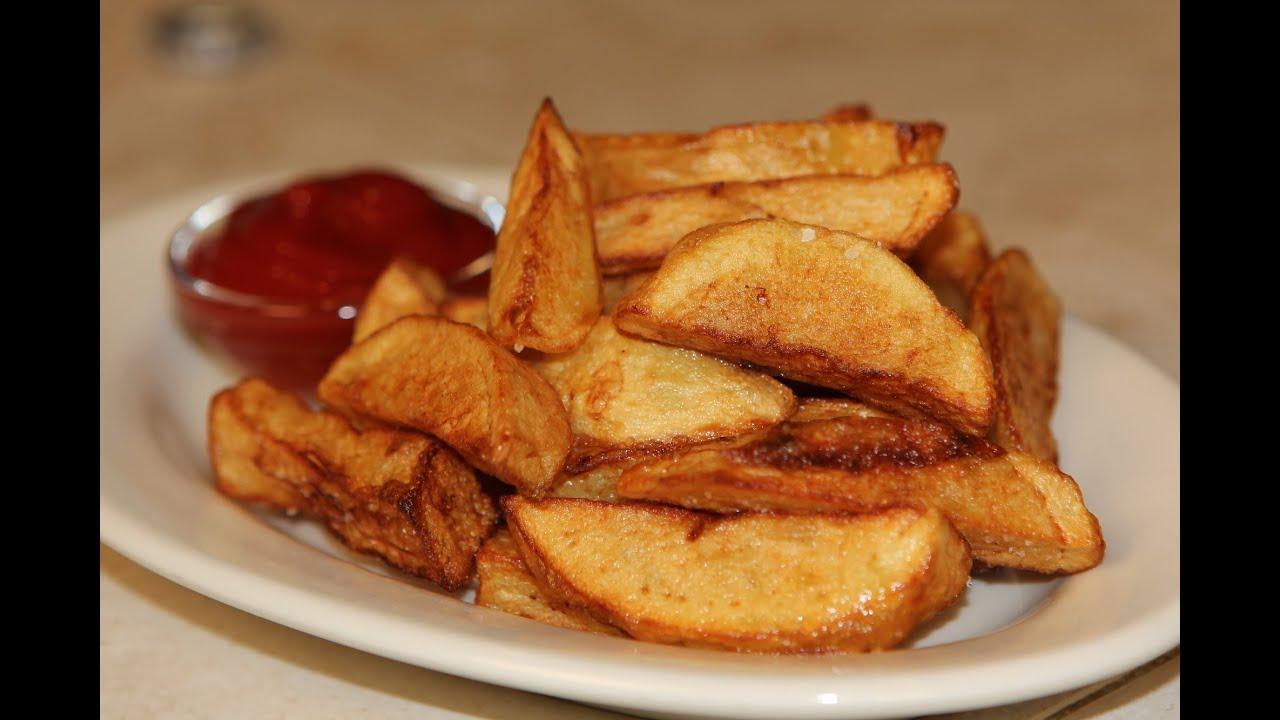 Deep Fried Potatoes Fried Potato Wedges Recipe