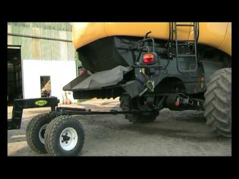 Doyle Engineering Combine Harvester Articulated Header Trolley/Trailer