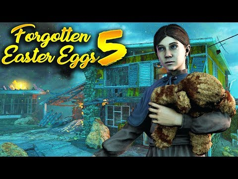 Top 5 Forgettable Easter Eggs in Zombies #5 (Call of Duty Zombies Side Easter Eggs)