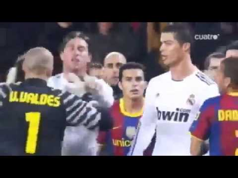 Fight real Madrid Barcelona