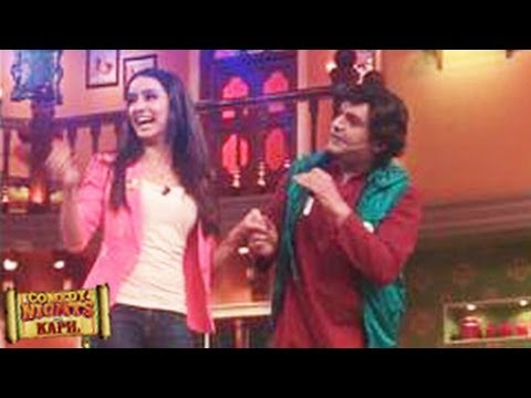 Shraddha Kapoor promotes Ek Villain on Comedy Nights with Kapil 28th June 2014 episode