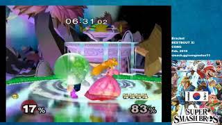 Xenjih (Peach) vs. Pretty Cool Guy (Fox) - BESTBOUT XI - Winners R2 (Bo5)