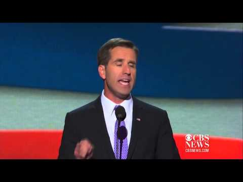 Joe Biden tears up at son Beau Biden's DNC speech