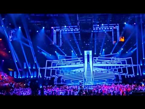 Eurovision 2016: Inside Globe Arena on the first semi-final (live in Stockholm/Sweden)