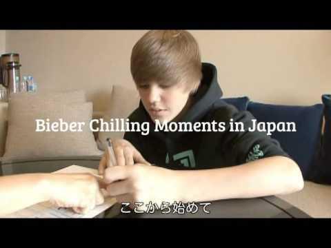 Justin Bieber Unbelievable Video Walking in public Japan