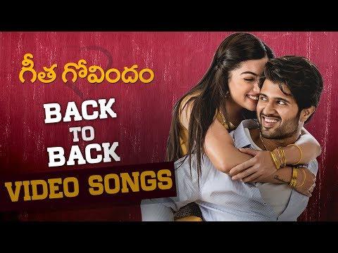 Geetha Govindam Back to Back Video Songs | Vijay Deverakonda | Rashmika | Gopi Sundar | Parasuram #1