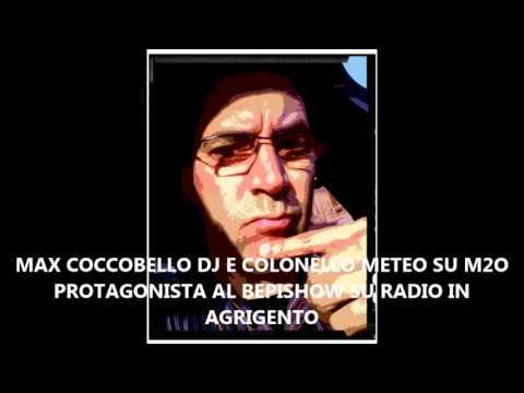 "MAX COCCOBELLO PROTAGONISTA IN ""AREA DANCE"" AL BEPISHOW SU RADIO IN AGRIGENTO"