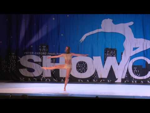 Showcase National Dance Championships 2017 - Senior Dancer of the Year
