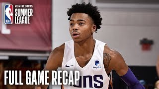 SPURS vs SUNS | Jalen Lecque Leads Phoenix | MGM Resorts NBA Summer League