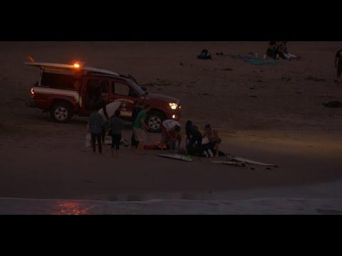 Huntington Beach, CA, Surf Accident, 11/6/2016 - (4K@30) - Part   1