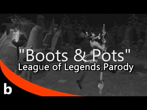 League of Legends PARODY: Boots and Pots (Feat. Cody from PlayerPOV) Suit and Tie parody