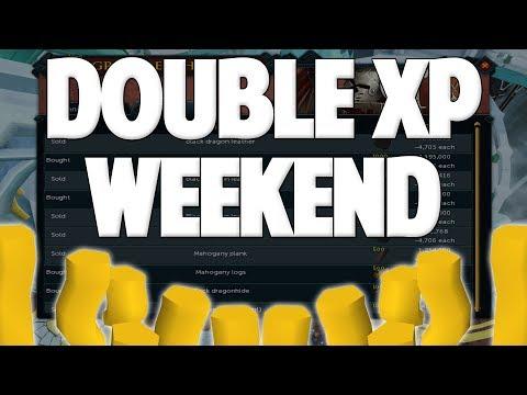 Runescape 2018   Double XP Weekend - Money Making Methods!