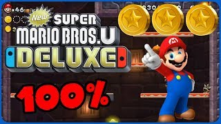 6-T Screwtop Tower ❤️ New Super Mario Bros. U Deluxe ❤️ 100% All Star Coins