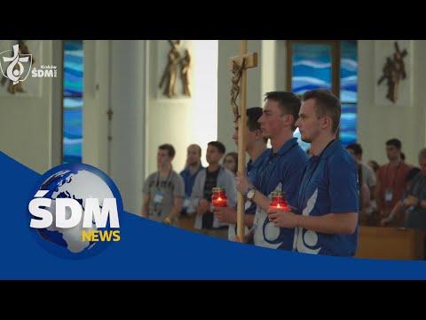 [ŚDM News] Droga Krzyżowa W Sanktuarium Bożego Miłosierdzia