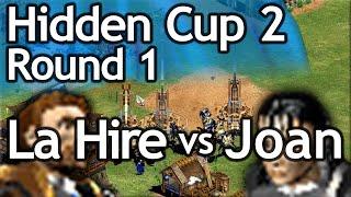 AoE2 Hidden Cup #2   La Hire vs Joan of Arc   Round of 16!