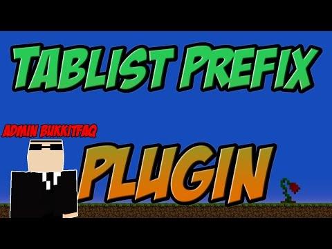 Tablist Prefix Bukkit Plugin Minecraft   1.8 Spigot   German    Tutorial  