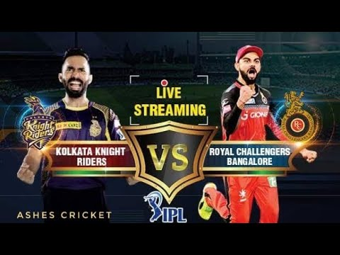 IPL 2019 RCB CAMPAIGN MATCH 1 KKR VS RCB LIVE | Ashes Cricket | IPL Gaming Series 2nd Edition
