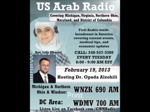 U.S. Arab Radio W/Dr. Alzohaili Feb 19th: Osteoporosis: Prevention and treatment