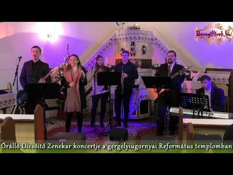 Őrálló Dicsőítő Zenekar adventi koncertje Vásárosnamény-Gergelyiugornya