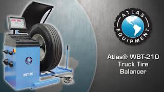 Atlas® WBT-210 Truck Tire Balancer