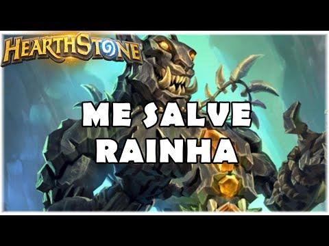 HEARTHSTONE - ME SALVE RAINHA! (STANDARD DK ELEMENTAL MAGE)